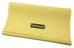 Протирочная искусственная перфорированная замша Tornado (55x40 см.) для протирки автомобилей, металла, стекла, пластика и винила - фото 15701