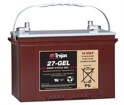 Trojan 27-GEL(12v - 76Ач) - Тяговый аккумулятор - фото 16449