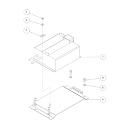 Встроенное зарядное устройство для машин Ghibli Round 45M 55BC - фото 16529
