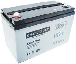 CHALLENGER A12-100A - Аккумуляторная батарея - фото 16606