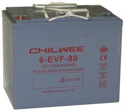 Chilwee 6-EVF-80 - Тяговый аккумулятор, GEL - фото 16614