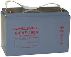 Chilwee 6-EVF-100A - Тяговый аккумулятор, GEL - фото 16615