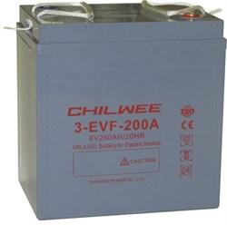 Chilwee 3-EVF-200A - Тяговый аккумулятор, GEL - фото 16618