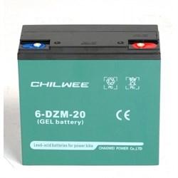 Chilwee 6-DZM-20 - тяговый гелевый аккумулятор - фото 16641
