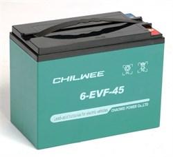 Chilwee 6-EVF-45 - Тяговый аккумулятор, GEL - фото 16655