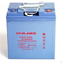 Chilwee 4-EVF-150A - Тяговый аккумулятор, GEL - фото 16656
