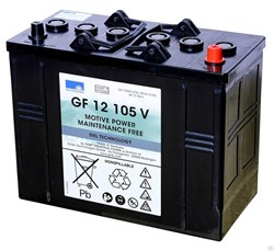 GF 12 105 V Sonnenschein - Аккумуляторная батарея - фото 16667