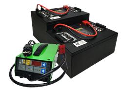 Сhilwee CC-24100-GM - литиевый тяговый аккумулятор (100 Ач) - фото 16703