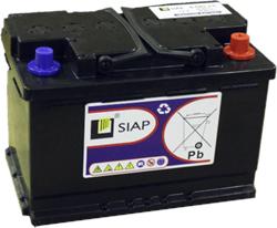 SIAP 6 GEL L3 - Тяговая аккумуляторная батарея - фото 16810