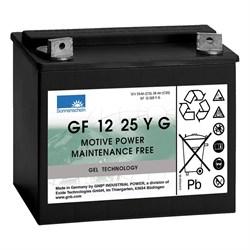 Sonnenschein GF 12 025 Y G - Тяговый  гелевый аккумулятор - фото 16812
