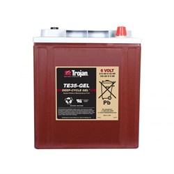 Trojan TE35-GEL - гелевый тяговый аккумулятор - фото 16814