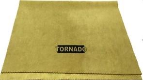 Протирочная искусственная замша Tornado (40х50 см.) для протирки стекол, хрома, пластика, винила