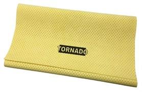 Протирочная искусственная перфорированная замша Tornado (55x40 см.) для протирки автомобилей, металла, стекла, пластика и винила