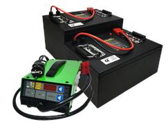 Сhilwee CC-24100-GM - литиевый тяговый аккумулятор (100 Ач)