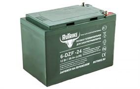 RuTrike 6-DZF-24 (12V24A/H C2) - гелевый тяговый аккумулятор